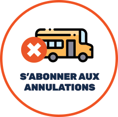 S'abonner aux annulations