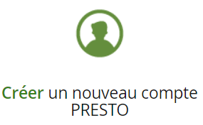 Créer un nouveau compte PRESTO